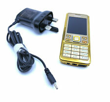 Nokia 6300 - Gold (Unlocked) Mobile Phone - 2 Years Warranty - Fast Delivery