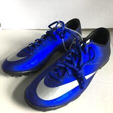 Nike Mercurial Victory V IC Indoor CR7 Ronaldo CR Soccer SHOES Royal Blue
