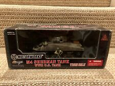 Ultimate Soldier/Motorworks 32X 1:32 M4 Sherman Tank W/Crew, No. 99307
