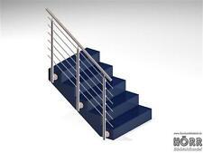 Geländer Edelstahl Bausatz Treppe Edelstahlrohr Balkon