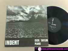 CECIL TAYLOR PIANO INDENT 1973 UNIT CORE RECORDS 30555 US LP