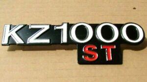 KZ1000ST Side Cover Badge for Kawasaki E1 1979 E2 1980 New Metal Emblem KS57