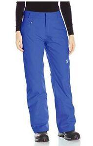 Spyder Womens Winner Athletic Fit Ski Snowboard Pants Size L, Inseam Reg (31.5)