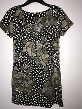 Tunic Dress Size 12 H & M Summer Cotton