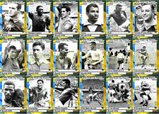 Brazil 1958 World Cup winners football trading cards