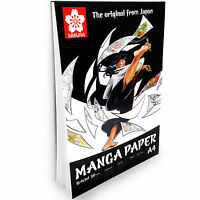 Sakura - Manga Paper A4 Drawing Pad - 20 Sheets – 250gsm – Portrait