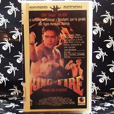 "RING OF FIRE (RING DE FUEGO) (Richard W. Munchkin) VHS . Don ""The Dragon"" Wilson"