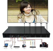 3x3,2x2,etc. Video Wall Processor,HDMI outputs,Multi-format inputs FREE SHIPPING
