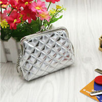 Coin Purse Coin Bag Wallet Card Pocket 4 Colors 1Pc Solid Color Fashion Women