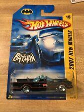 2007 Hot Wheels 66 1966 BATMOBILE  New Models 1st Editions  IN A BOX *