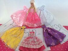 Großes SET Schnittmuster Puppenkleidung für Mode Puppen 29cm - 30cm Barbie Ken