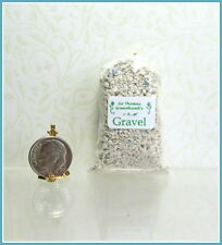 Dollhouse Miniature Large Clear Gravel Bag by Sir Tom Thumb