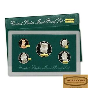 1996 U.S Proof Set with Original Green Box  - #C21135NQ