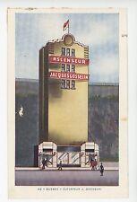 Ascenseur Jacques Gosselin QUEBEC CITY Rare Vintage CPA Elevator ca. 1950s