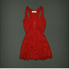 Abercrombie & Fitch Red Lace Dress & 1x Gilly Hicks Lotion