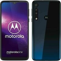 BRAND NEW Motorola One Macro Space Blue 64GB LTE DualSim Unlocked Android 4G LTE