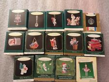 Hallmark Miniature Christmas Ornaments, Lot of 14