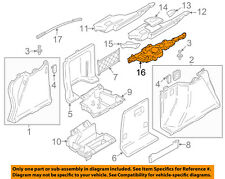 BMW OEM 14-16 328i GT xDrive Interior-Rear-Support Right 51477298052