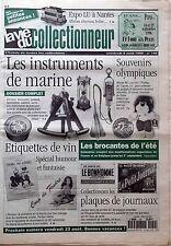 La Vie du Collectionneur n°140- Instruments de Marine Etiquettes de Vin Plaques