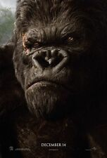 """KING KONG 2005 Advance Teaser DS 2 Sided 27x40"""" US Movie Poster Naomi Watts"""
