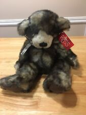 "Russ beanbag plush Teddy Bear ""Cappuccino"" New w/tags"