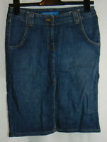 FCUK French Connection Denim Pencil Skirt Jean Knee Length Size 8