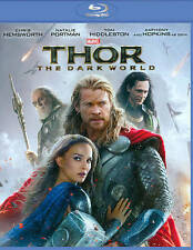 Thor: The Dark World (1-Disc Blu-ray), Good DVD, Tom Hiddleston, Natalie Portman