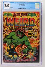 Blue Bolt #112 - Star 1952 CGC 2.0 Weird Tales of Terror - L.B. Cole