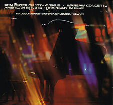 SLAUGHTER ON 10th AVENUE Malcolm Binns SINFONIA OF LONDON Alwyn LP ST 626 @EXCLT