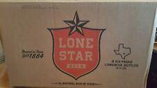 LONE STAR FORT WORTH TEXAS Beer 24 Pack 12oz Bottle Carrier Case Cardboard Box