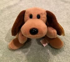 Ty Beanie Babies -Bones- Dog - MWMT Tag Errors, No Stamp