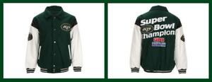 G-III Sports ~ New York Jets Men's Commemorative Championship Jacket $275 NWT