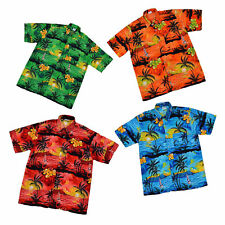 Hawaiian Shirt Holiday Costume BBQ Festival Stag Party Beach Fancy Dress Floral