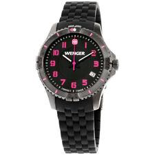 Wenger Squadron Lady Quartz Movement Black Dial Ladies Watch 10121105