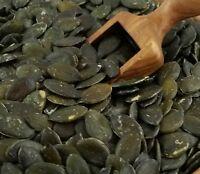 Geschälte Kürbiskerne dunkel Grün Kürbiskern Rohkostqualität unbehandelt Kürbis