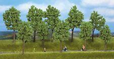 NOCH 24100 H0 - TT, 5 Stück Frühlingsbäume, Laubbäume, 100 - 140 mm hoch, Neu