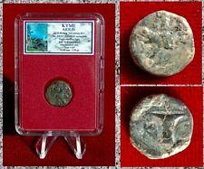 Ancient GREEK Coin KYME AIOLIS Eagle - Vase Ancient Monogram 3rd B.C.