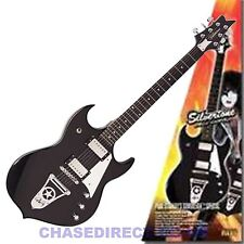 Silvertone Kiss Paul Stanley Sovereign Electric Guitar Humbucker Pickups Black