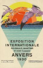 CP EXPOSITION INTERNATIONALE ANVERS 1930 ART FLAMAND