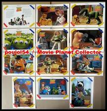 TOY STORY - Pixar,Lasseter - JEU ALLEMAND DE 12 PHOTOS / 12 GERMAN LOBBY CARDS