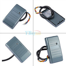 Waterproof Proximity RFID ID Card Access Control Reader 125KHz Wiegand 26/34 JS