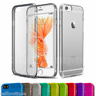 Soft Silicone Gel Back Case Cover Screen Protector for iPhone 5C 6s 5S 7