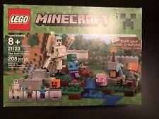 LEGO Minecraft The Iron Golem 21123 (BNIB, FREE SHIPPING)