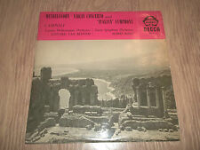 MENDELSSOHN VIOLIN CONCERTO AND ITALIAN SYMPHONY ( VAN BEINUM / ROSSI ) ACL LP