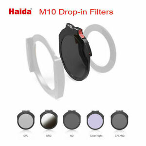 Haida M10 Drop-in Filters For M10 Filter Holder(CPL/ND/GND/Clear-Night/CPL+ND)