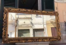 MAESTOSA SPECCHIERA FIORENTINA DEL 900 BAROCCO  FOGLIA ORO 210 x 117 cm