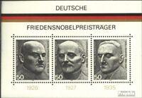 BRD Block11 (kompl.Ausgabe) gestempelt 1975 Nobelpreisträger