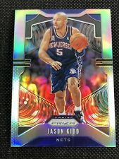 Jason Kidd 2019-20 Panini Prizm SILVER Parallel Refractor SP Nets