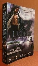 Night Falls Darkly Kim Lenox Paranormal Romance Pb 2008 book
