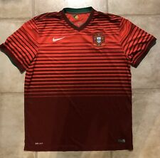 AUTHENTIC NIKE TEAM PORTUGAL SOCCER FOOTBALL JERSEY SHIRT XL